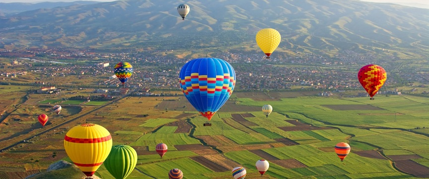 Польоти на повітряній кулі в Києві