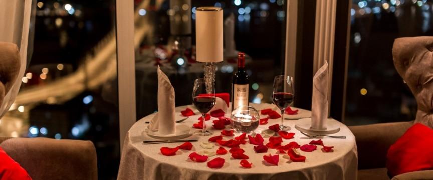 Подарочные сертификаты на романтический ужин